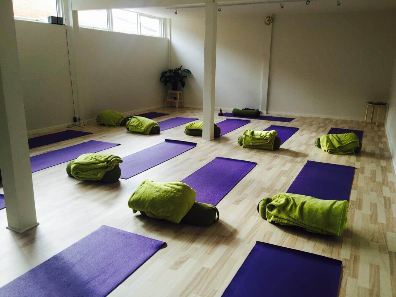 Restorativ Yoga workshop